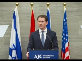 Embedded thumbnail for Highlights from Sebastian Kurz's Keynote Speech on EU-Israel Relations and Jewish Life in Europe