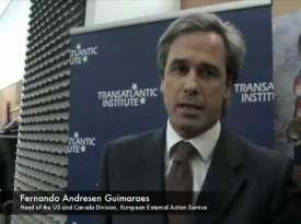 Embedded thumbnail for Transatlantic Priorities with Fernando Andresen Guimaraes (EEAS)