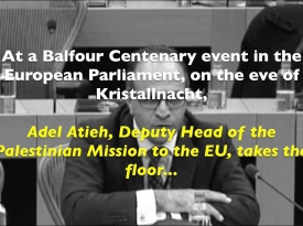 Embedded thumbnail for Palestinian Diplomat Shocks European Parliament with Outrageous Holocaust Reference