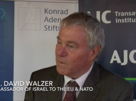 Embedded thumbnail for Ambassador David Walzer on EU-Israel Relations