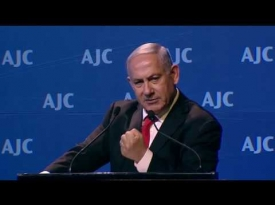 Embedded thumbnail for Israeli Prime Minister Benjamin Netanyahu Addresses AJC Global Forum 2018