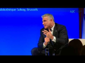 Embedded thumbnail for Europe, Israel, and the Middle East: A Conversation with Yair Lapid, Head of Israel's Yesh Atid Party
