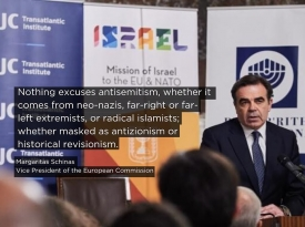 Embedded thumbnail for Powerful Holocaust Remembrance Speech by Vice President Schinas