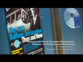 Embedded thumbnail for David Campbell Bannerman - Remarks at Balfour Centenary Symposium