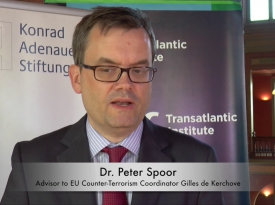 Embedded thumbnail for Video: Dr. Peter Spoor on EU-Israel Counter-Terrorism Cooperation