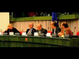 Embedded thumbnail for Video: Daniel Schwammenthal Addresses EPP Euromed Working Group on the Situation in the Middle East