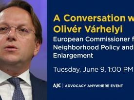 Embedded thumbnail for AJC Webinar with EU Commissioner Olivér Várhelyi
