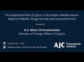 Embedded thumbnail for Remarks by H.E. Nikos ChristodoulidesMinister of Foreign Affairs of Cyprus